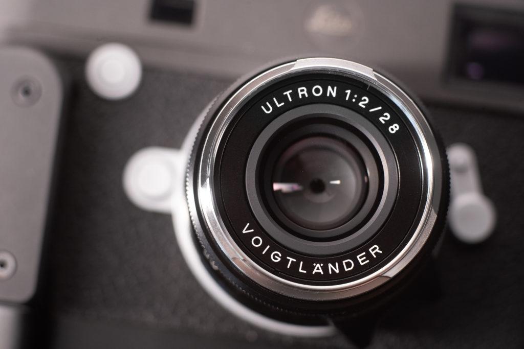Voigtlander Ultron 28mm f2 mains